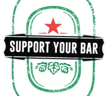 "Heineken lance l'opération ""Support Your Bar"""