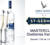 Masterclass Distilleries Françaises chez Lavinia