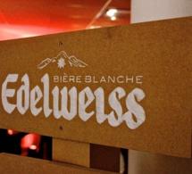 Lancement de la bière Edelweiss par Brasseries Heineken