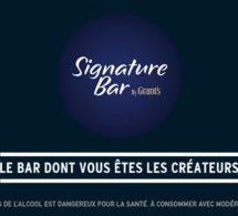 Signature Bar by Grant's : le bar dont vous êtes les créateurs