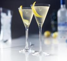 Cannes 2015 : les cocktails Grey Goose du plus petit bar à Dry Martini du monde