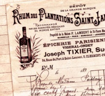 250 ans du rhum Saint James : 1882