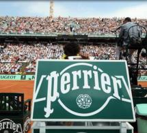 Perrier : partenaire de longue date de Roland-Garros