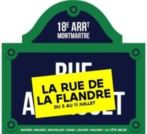 La Rue de la Flandre 2015 à Paris