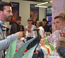 Infosbar Cocktails Spirits 2015 : Sur le stand Bacardi-Martini france...