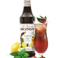 Cocktail Thé fraise basilic by MONIN