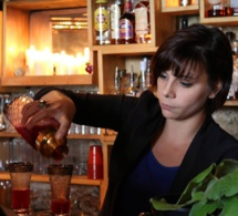 Bartenders at work by Infosbar : le CV express de Audrey Eschemann