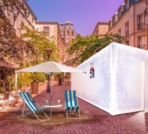 51 Glacial installe son Arctic Room dans les Jardins du Marais à Paris