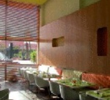 Marrakech : Le café 16, un carré vert acidulé à croquer