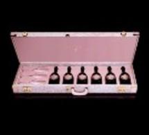 Dom Pérignon Rosé Guitar Case by Karl Lagerfeld