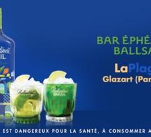 Pop-up bar Ballsao à Glazart