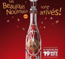 Le Beaujolais Nouveau 2015 arrive le 19 novembre