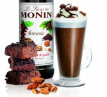 Monin lance son sirop Brownie Chocolat