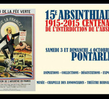 Pernod Absinthe commémorera les 100 ans de l'interdiction de l'absinthe à l'occasion des 15e Absinthiades de Pontarlier