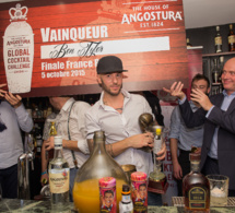Ben Tyler remporte la finale France de l'Angostura Global Cocktail Challenge 2016