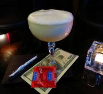 Carte de cocktails dédiée à Martin Scorsese au bar Le Fantôme de l'Opéra