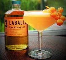 """Cocktail """"Trois nuances de Vigne"""" par Thomas Girard pour Laballe"""
