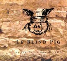 Le Blind Pig : bar à gin à Lyon