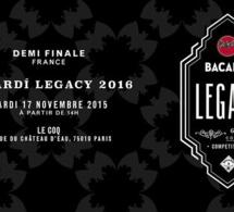 Demi-finale France de la Bacardi Legacy 2016