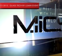 Nouveauté MICS 2015 : Glass tech by Lumin Event