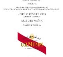 Lancement de la tournée CLUB SIXTIES MUMM chez CASTEL