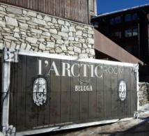 L'Arctic Room et la vodka Beluga s'installent à Val D'Isère sur la terrasse de l'hôtel de l'Aigle des Neiges