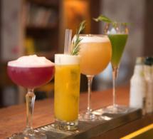 Cocktails d'hiver au bar Le 153