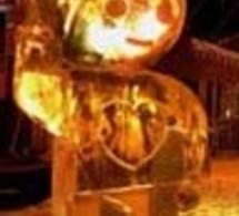 Ice Kube Show à Tignes avec Orange