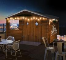 Chalet Suzependu : le bar éphémère de Suze au Perchoir