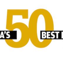Les 50 meilleurs bars d'Asie de 2016