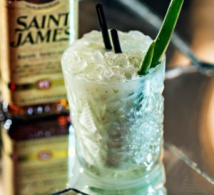 Piña Vera par Rhum Saint James / À La Française - Paris Cocktail Week 2016