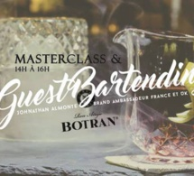 Masterclass et Guest bartender Ron Botran au By Coss Bar