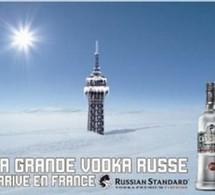 Russian Standard Vodka primée pour sa campagne d'arrivée en France