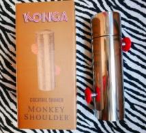 Monkey Shoulder Konga Cocktail Shaker, l'ustensile collector à se procurer d'urgence