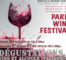Paris Wine Festival 2016 au Bastille Design Center