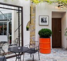 Le bar terrasse de l'Hôtel Jules & Jim