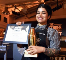 Barbara Si-Dris remporte The Bartender Contest 2016 by Brown-Forman