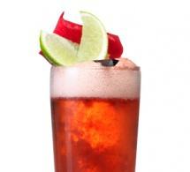 Iced Raspberry, une recette Caraïbos