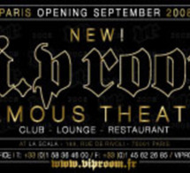 Jean-Roch installe le VIP Room Paris en lieu et place de la Scala, rue de Rivoli