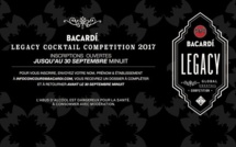 Bacardi Legacy Cocktail Competition 2017 : inscriptions ouvertes !
