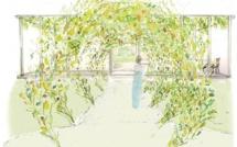 Jardin Belvedere vu par Thierry Boutemy