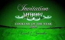 Midori cocktail of the year au Purple bar du Hilton
