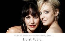 Lucky star : Lio et sa fille Nubia prennent les platines de Murano Resort Paris