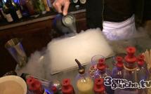 Cocktails moléculaires à la famille (Paris)