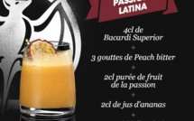 Recette Cocktail Passion Latina par Bacardi
