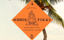 Soirée Tiki au Prescription Cocktail Club de Paris