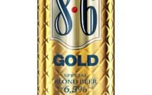 Nouveau design pour la bière 8.6 Gold