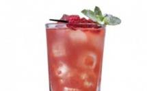 Raspberry Flower, une recette Caraïbos