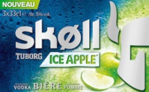 "Tuborg lance la Skøll en version ""Ice Apple"""