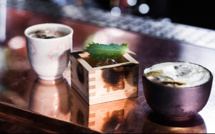 Cocktails éphémères Suntory au Andy Wahloo